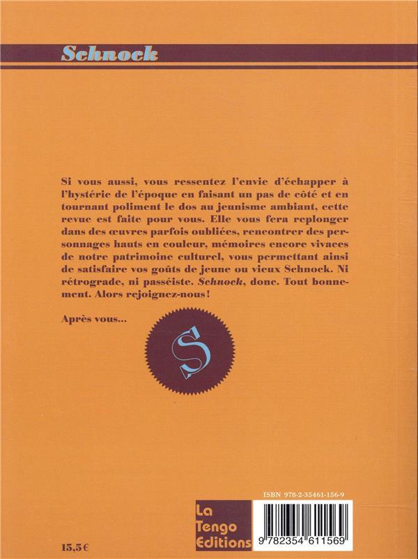 REVUE SCHNOCK n.29 ; Jean Gabin