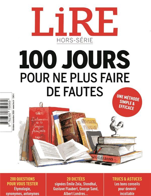 Lire hors-serie ; 100 jours pour ne plus faire de fautes