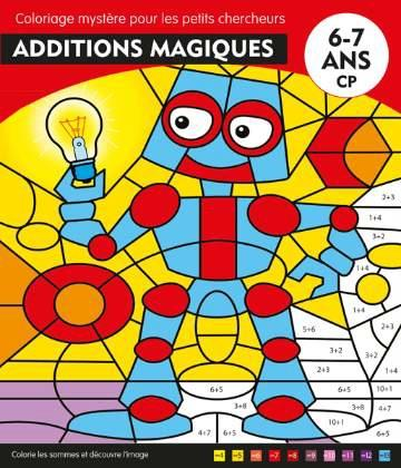 Additions magiques ; CP ; 6-7 ans