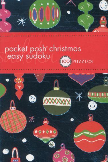 Pocket posh christmas easy sudoku: 100 puzzles