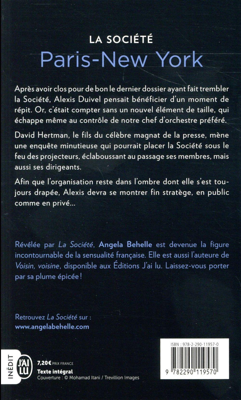 La société T.10 ; Paris-New York