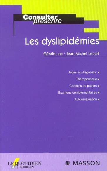 Les Dyslipidemies