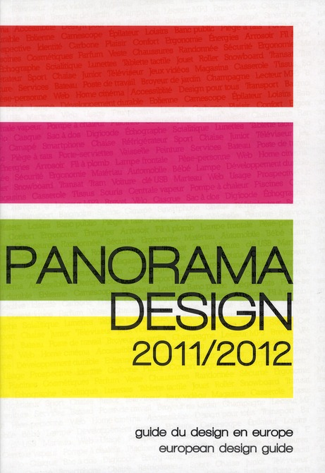 Panorama Design 2011/2012 ; Guide Du Design En Europe