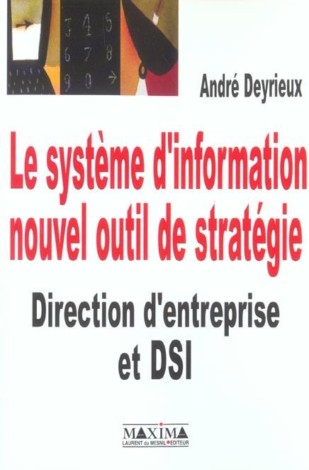 Systeme Informat Nouvel Outil