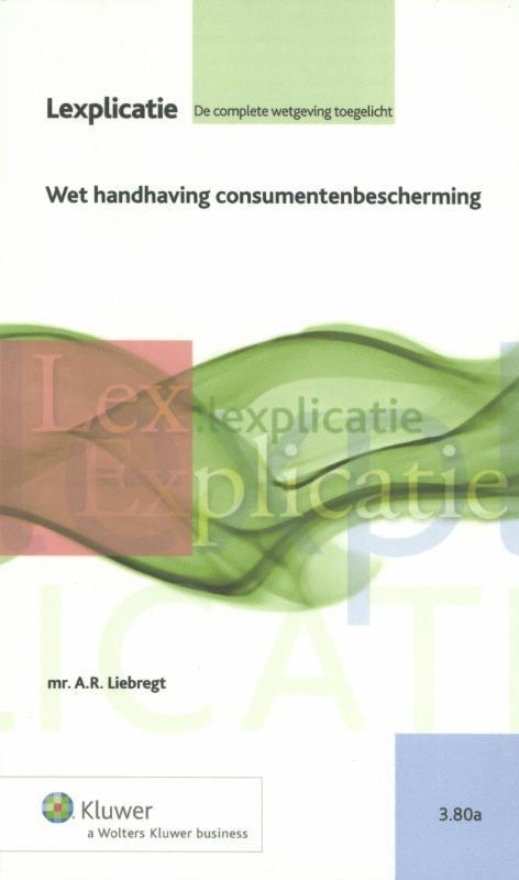 Wet handhaving consumentenbeschermning