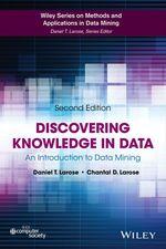 Vente Livre Numérique : Discovering Knowledge in Data  - Daniel T. Larose - Chantal D. Larose