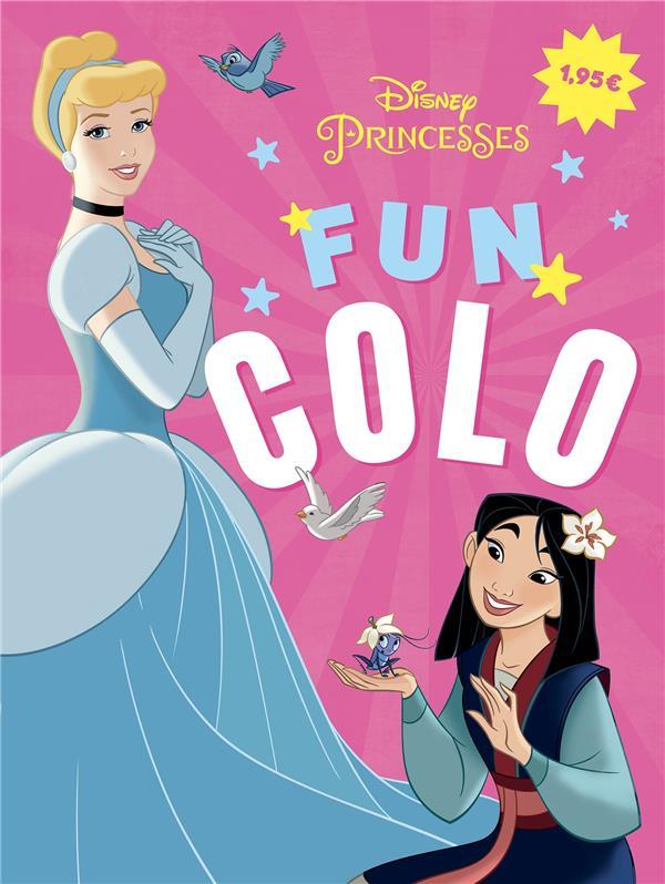 Disney Princesses ; fun colo