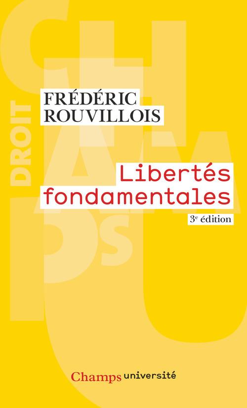 Libertés fondamentales (3e édition)
