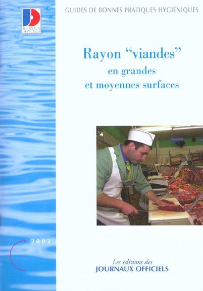 Rayon Viandes En Grandes Et Moyennes Surfaces N 5928 2002