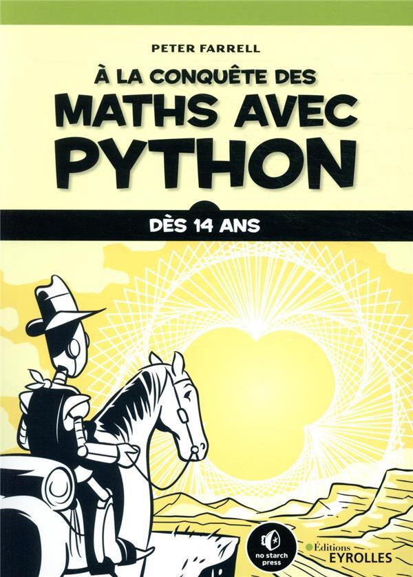 à la conquête des maths avec Python ; dès 14 ans