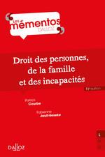 Vente Livre Numérique : Droit des personnes, de la famille et incapacités - 11e ed.  - Fabienne Jault-Seseke