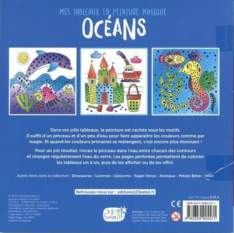 Mes tableaux en peinture magique ; océan
