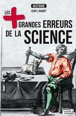 Vente Livre Numérique : Les plus grandes erreurs de la science  - Jean C. Baudet