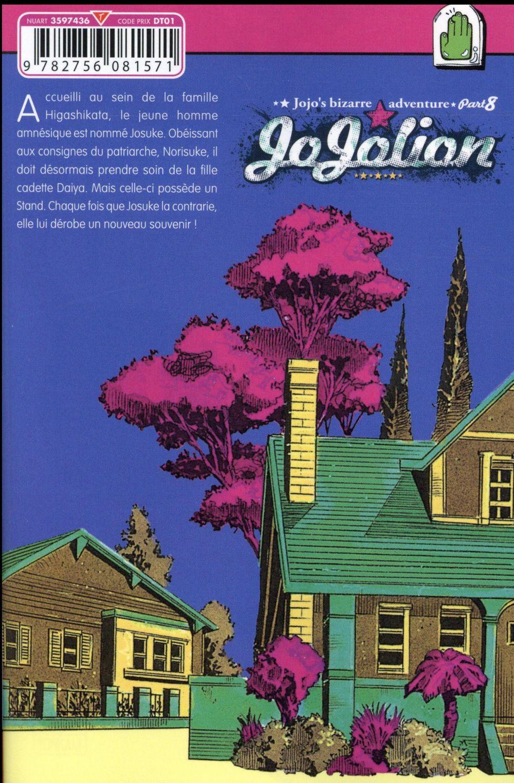 Jojo's bizarre adventure - saison 8 ; Jojolion t.3