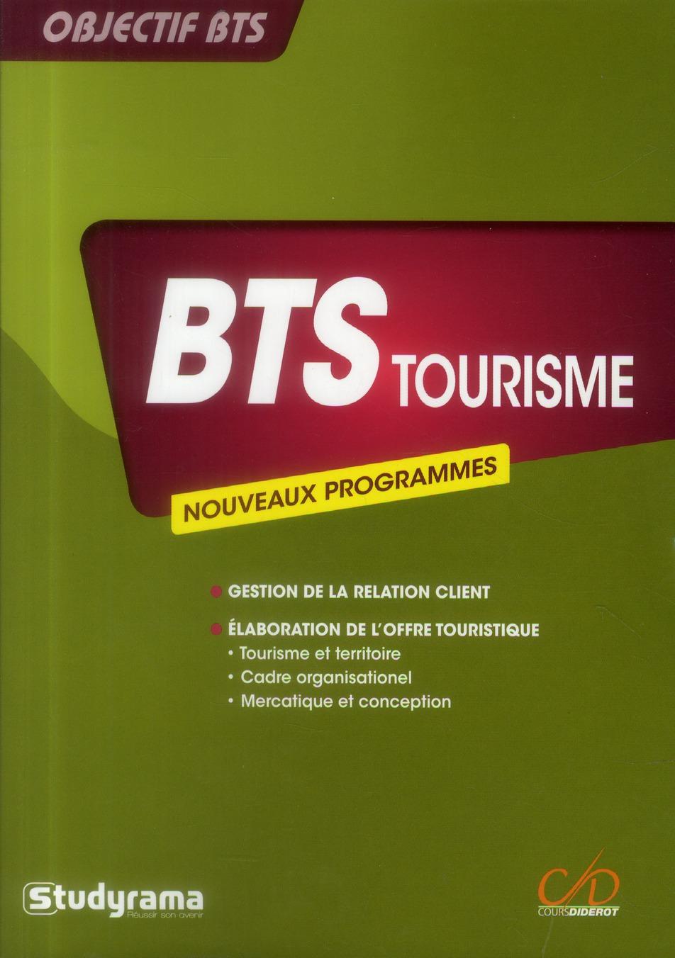 Bts Tourisme