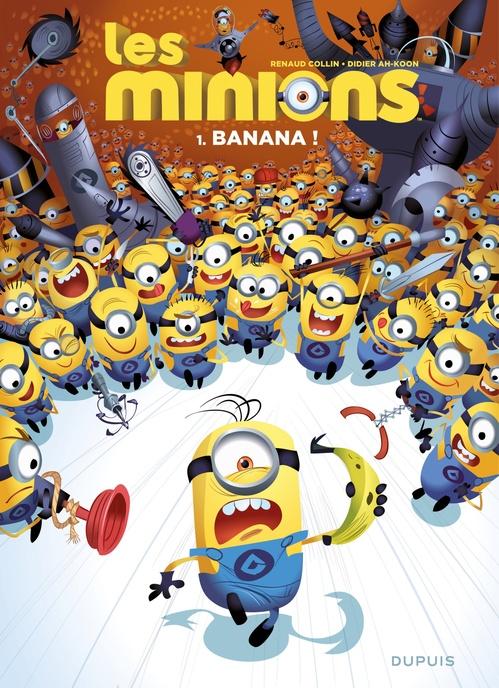 Les Minions T.1 ; banana !