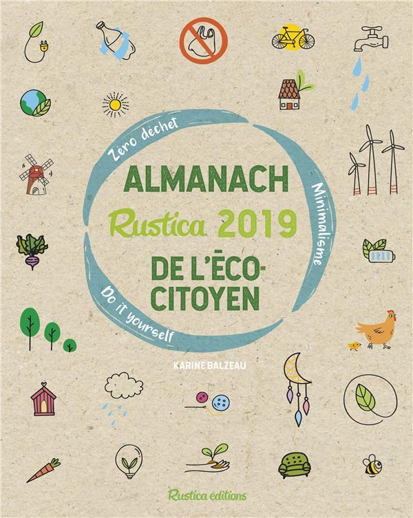 Almanach Rustica de l'écocitoyen (édition 2019)