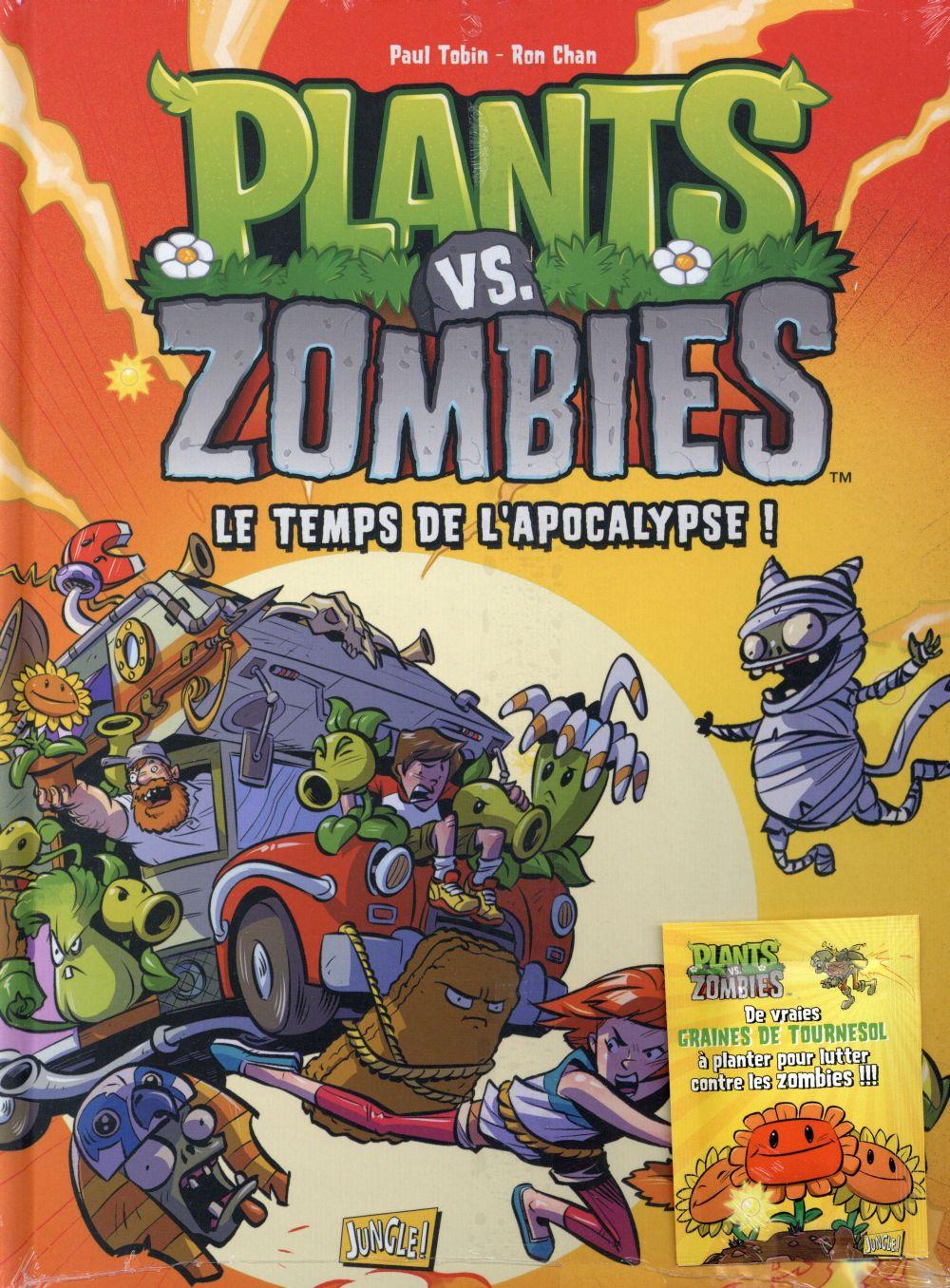 plants vs zombies t.2 ; le temps de l'apocalypse !
