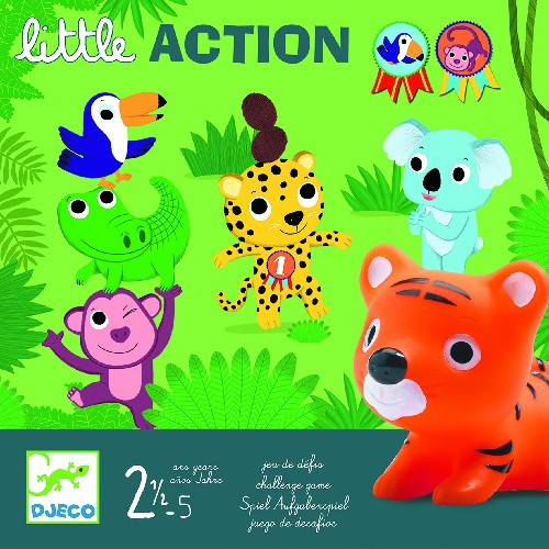 LITTLE ACTION ; 2 ANS 1/2 - 5 ANS