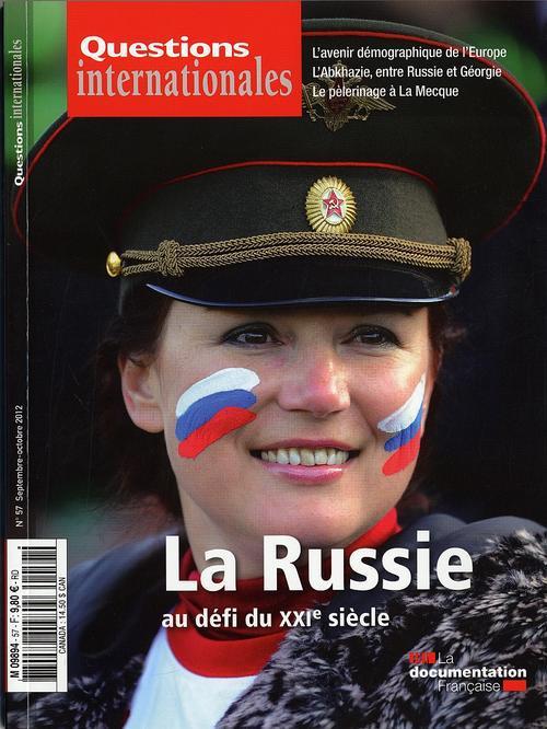 Revue questions internationales t.57; la russie