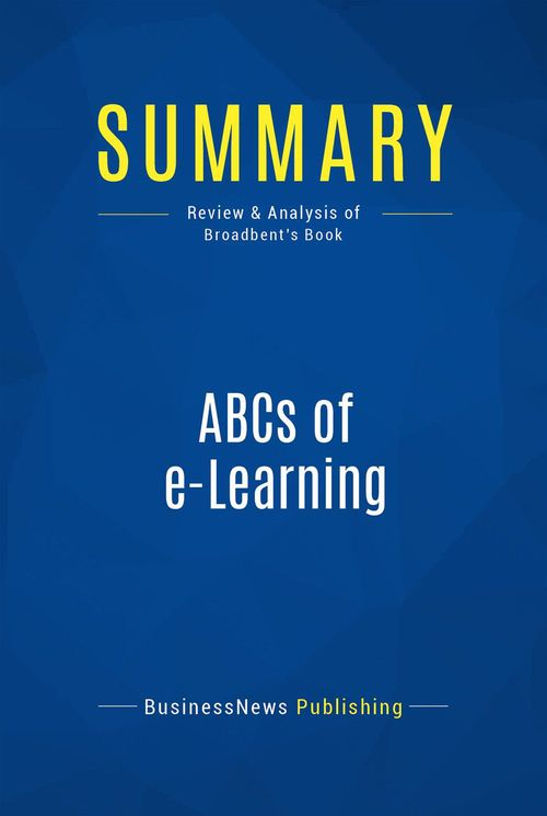 ABC's of E-Learning