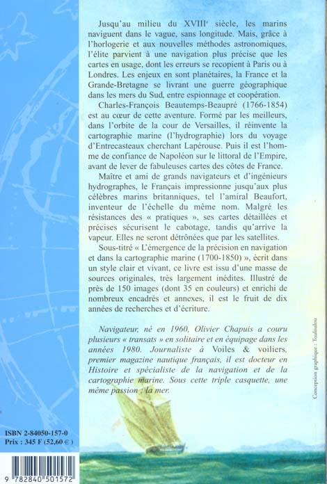 à la mer comme au ciel ; Beautemps-Beaupré & la naissance de l'hydrographie moderne (1700-1850)