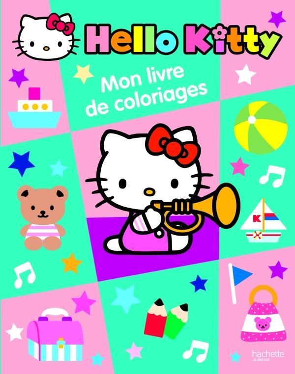 Hello Kitty ; Mon Livre De Coloriages