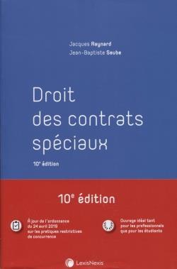 Droit des contrats spéciaux (10e édition)