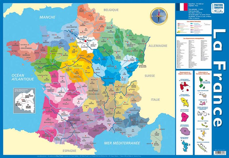 La France ; posters recto verso