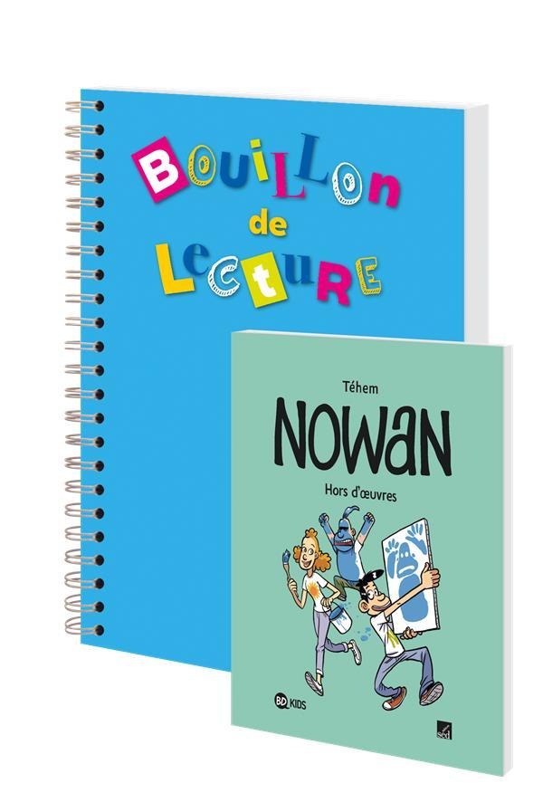Nowan ; hors d'œuvres ; CE2, CM1, CM2 ; 12 livres, 1 fichier