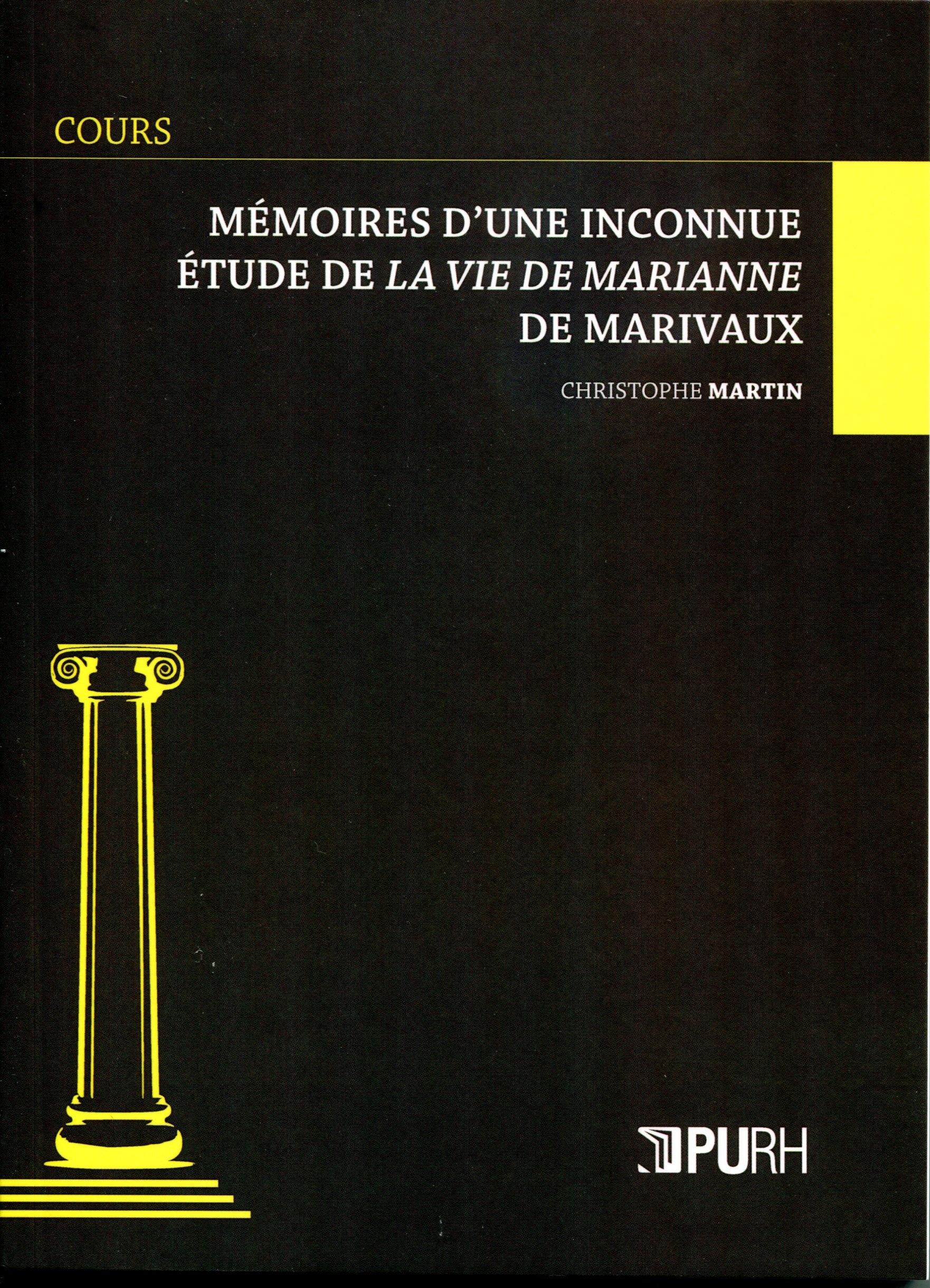 Memoires d'une inconnue - etude de