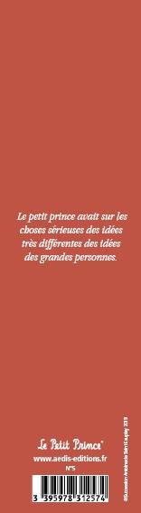 Marque-page Le Petit Prince T.5