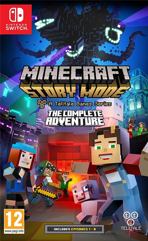 Minecraft story mode : the complete adventure
