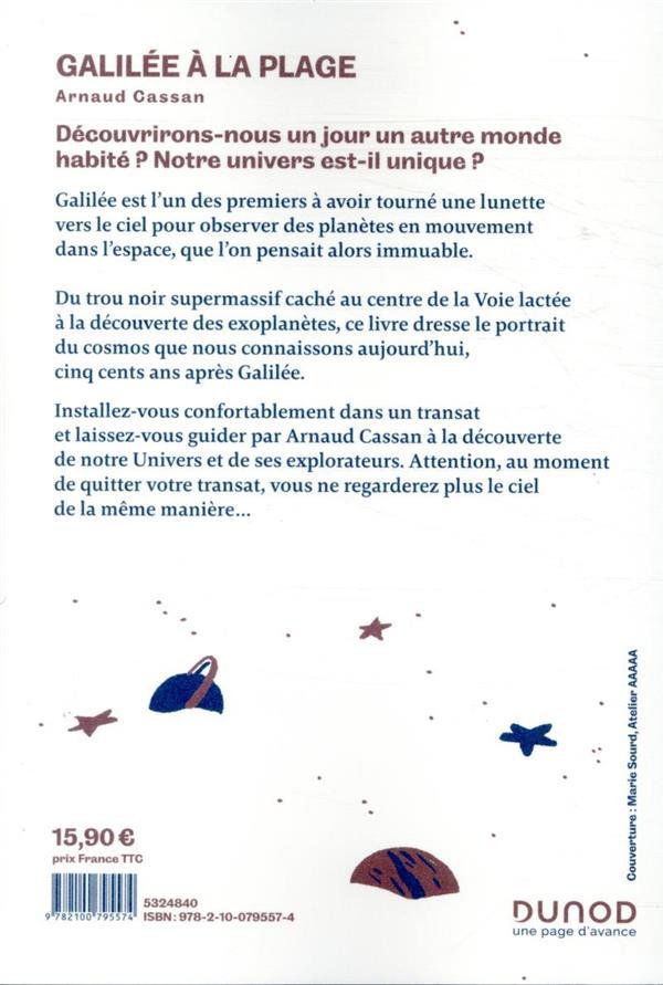 Galilée à la plage ; l'astronomie dans un transat