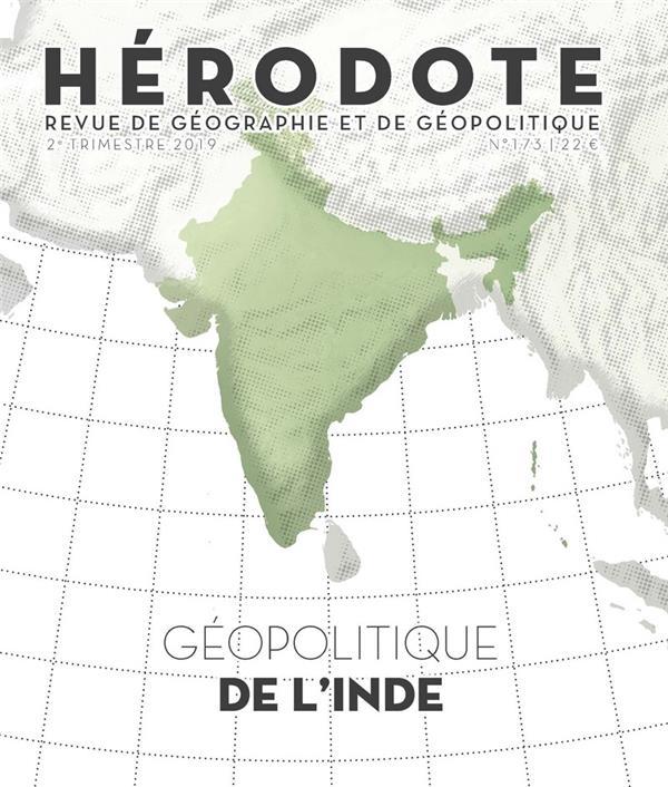 Revue herodote n.173 ; geopolitique de l'inde