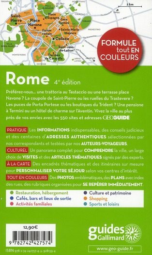 GEOguide ; Rome (édition 2011)