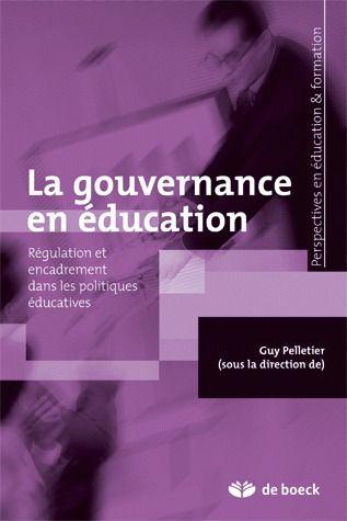 Gouvernance En Education (La)