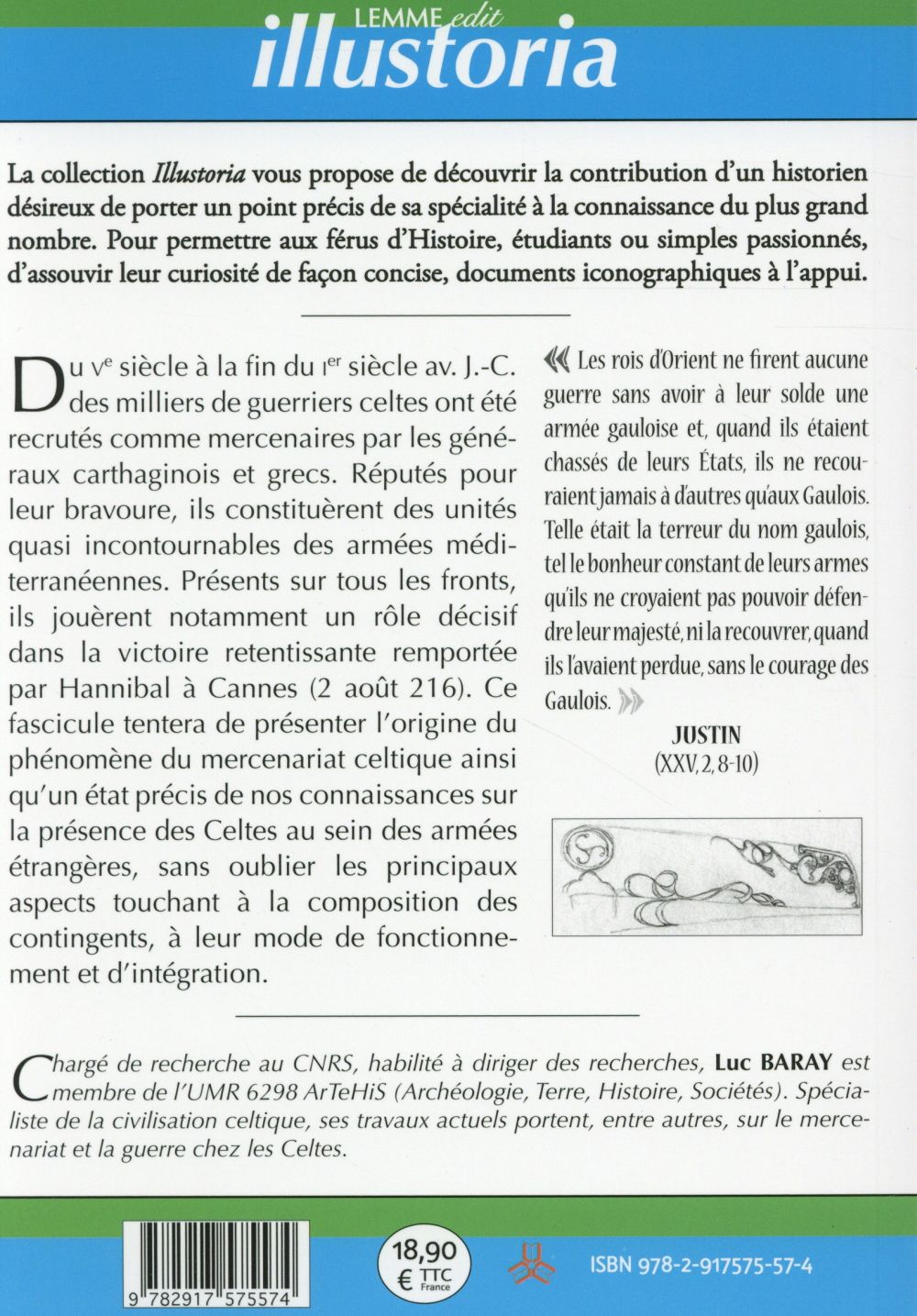 Les mercenaires celtes en Méditerranée ; 5e-1er siècles avant J.-C.