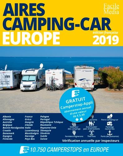Aires camping-car Europe (édition 2019)