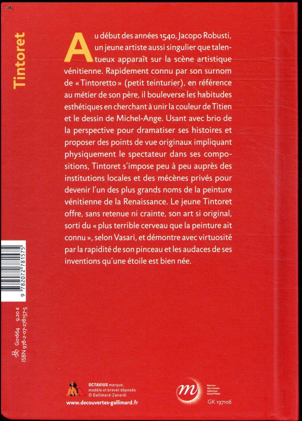 Tintoret ; naissance d'un génie