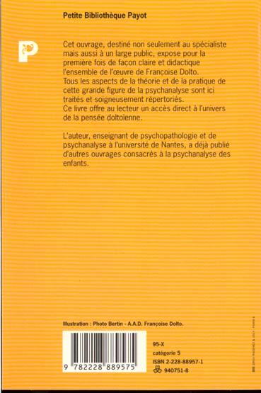 Introduction a l'oeuvre de francoise dolto