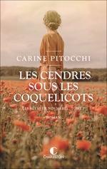 Vente Livre Numérique : Les cendres sous les coquelicots  - Carine Pitocchi