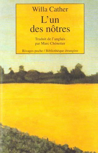 L'UN DES NOTRES-1ERE ED