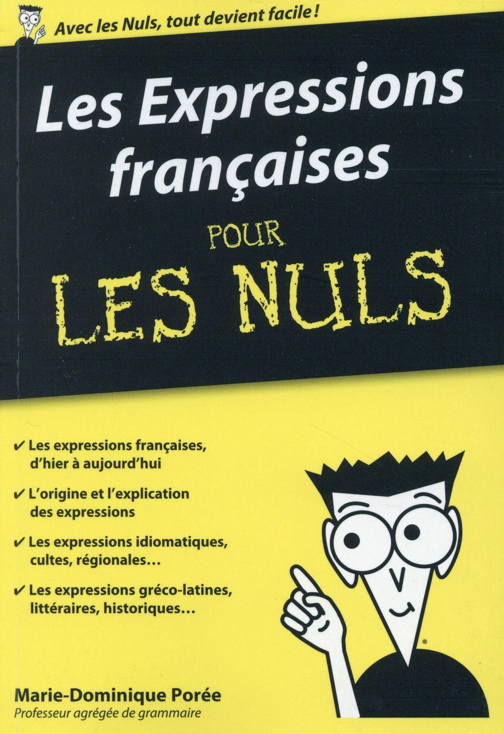 Les expressions françaises pour les nuls