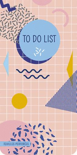 To do list ; memphis