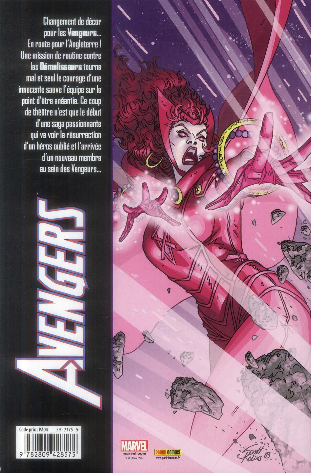 Avengers t.4 ; Coeur de Lion d'Avalon