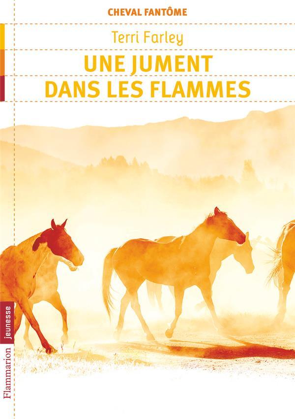Cheval fantome t.3 ; une jument dans les flammes