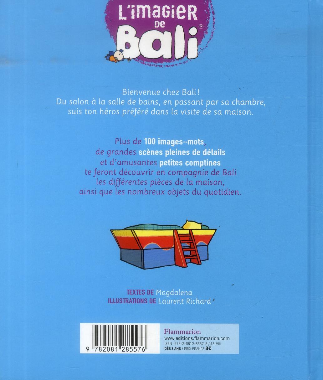 L'imagier de Bali ; à la maison