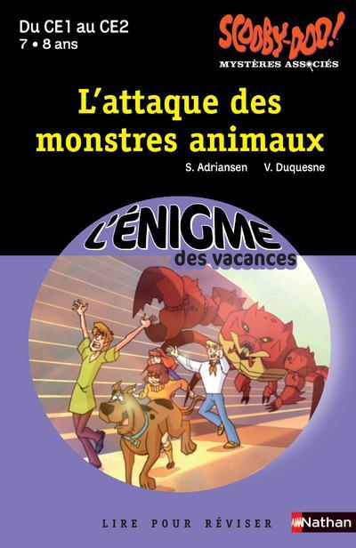 L'ENIGME DES VACANCES PRIMAIRE T.43 ; scooby-doo ! l'attaque des monstres animaux ; du CE1 au CE2