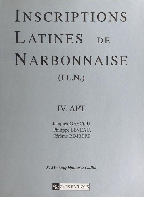Inscriptions latines de narbonnaise